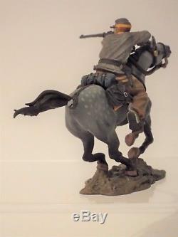 Collectors Showcase US Civil War Miniatures CS00246 Confederate Rider, Boxed