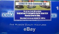 Collectors showcase 60mm Civil war 14th Brooklyn command #CS00270 3figs MIB oop