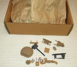 Complete Barzso 54mm numbered Confederate Civil War Camp Playset