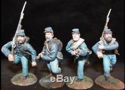 Conte 57167 Civil war Irish brigade advancing / charging set #1