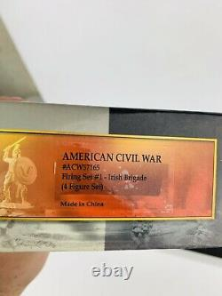 Conte AMERICAN CIVIL WAR #ACW57165 FIRING SET #1 IRISH BRIGADE 4 FIGURE SET
