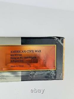 Conte AMERICAN CIVIL WAR #ACW57166 FIRING SET #2 IRISH BRIGADE 4 FIGURE SET
