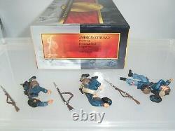 Conte Acw57106 Union Iron Brigade Laid Dead American CIVIL War Toy Soldier Set