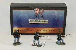 Conte American Civil War 57100 Union Infantry Firing Line Set #1