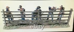 Conte American Civil War #57113 Antietam Signature Series Union 6 Figures & Base