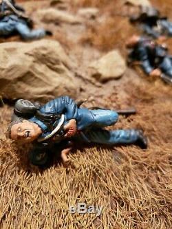 Conte American Civil War #ACW57170 Union Dead (5 Figures Set) RETIRED, 54MM