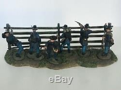 Conte Antietam Signature Series Civil War 6 Union Toy Soldiers & Fence ACW57113