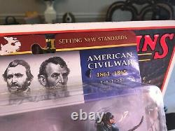 Conte CIVIL War Union -8 Soldiers -painted- 1/32 -new Cw014