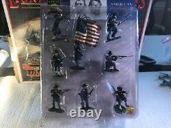 Conte CIVIL War Union -8 Soldiers -painted- 1/32 -new Cw015