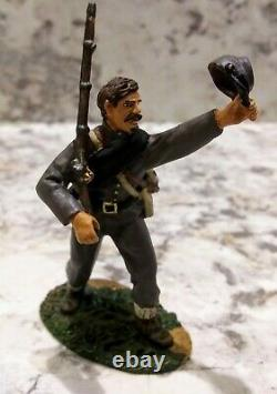 Conte Civil War Lee's Texans rare set 219 of 2000 54mm soldiers Wow! Collectible