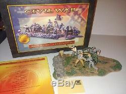 Conte Civil War Rolling Thunder Confederate Artillery And Gun Crew #1 MIB