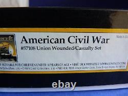 Conté Collectibles Civil war ACW57108 Union wounded casualty set En boîte