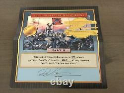 Conte DT59004 Civil War Don Troiani Signed Artist Proof Set Southern Cross New