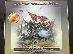 Conte DT59005 Don Troiani Civil War High Water Mark 8 Figure Set & Terrain Base