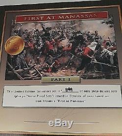 Conte Don Troiani Dt59006 American CIVIL War Coffret Numerote De 40 CM