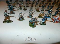 Conte Legends of the Silver Screen Civil War Soldiers Figures Confederate Lot