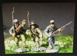 Conte Lot x 2 SOS-011 SOS-013 Civil War Confederate Firing Line #2 Advancing #2