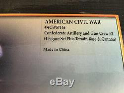 Conte american civil war #57146 artillery & gun crew cannon #2