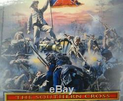 Conte collectables 54mm Civil War 10 figs + cannon + DT59003/4 2001 MIB oop