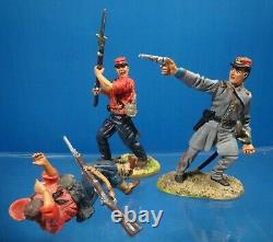 Conte collectables DT59006 54mm Civil war First at Manassas 7 figs2002 usedoop