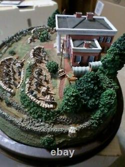 Danbury Mint Marye's Heights Civil War Battle of Fredricksburg 1862 Sculpture