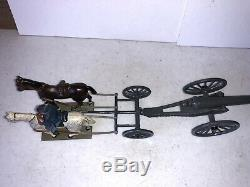 Early Pre War Mignot American Civil War Union Artillery Set