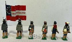 Edmunds American Civil War 54mm Metal 1st Cherokee Braves Set A&B