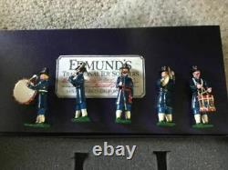 Edmunds Civil War Toy Soldiers Iron Brigade Band 5 Pieces IN BOX