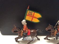 English civil war mounted and pikemen vintage metal 132