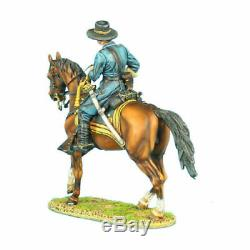 FIRST LEGION Civil War ACW039 General John Buford Gettysburg 1863 MIB MOUNTED