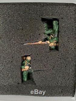 FRONTLINE TOY SOLDIERS AMERICAN CIVIL WAR BSS1 BERDENS 6 SHARPSHOOTERS with CERT