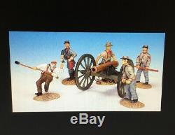 Frontline ACG. 1 American Civil War Confederate Artillery Firing Gun Cannon Crew