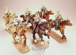 Frontline BRC. 3 American Civil War 6 Figure Confederate Cavalry Set 13-18 New