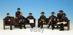 Frontline Civil War Union Generals Meade & Grant, with 6 ADCs AUP5 Massaponax