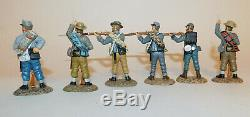 Frontline Figures ACI1 American Civil War Confederate Infantry Set + Box 6 Firin