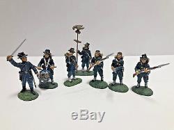 Frontline Figures AUI. 005.007 &. 012 Civil War 6th Wisconsin 7 pc Set