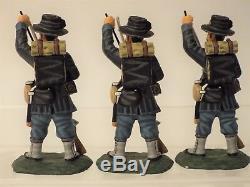 Frontline Figures AUI. 1 American Civil War, 6th Wisconsin, 3 Firing 3 Loading
