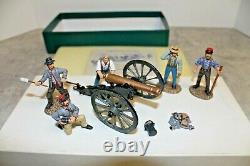 Frontline Figures American Civil War Confederate Artillery Firing Cannon ACG. 7