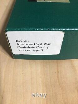 Frontline Figures American Civil War Confedrste Calvary, Trooper Type 5 Figure