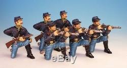 Frontline Figures American Civil War Union 3 Firing, 3 Loading DC. 1 6 54mm Metal