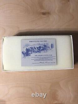 Frontline Figures Toy Soldiers A. C. L. 5 American Civil War Charging Confederate