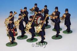 Frontline Figures #ub1 And Ub2 American CIVIL War Union Marching Band