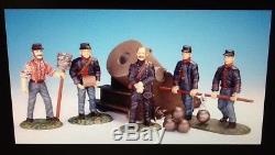 Frontline SAA. 1 Civil War Union Artillery 13 Inch Dictator Mortar & 5 Crew