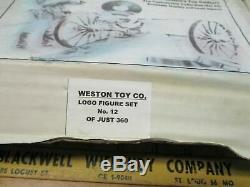 Gatling Gun Set Rare In Original Box Steve Weston Soldier gos withBarzso CIVIL WAR