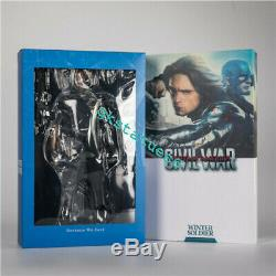 HC Toy Civil War Winter Soldier Bucky Barnes 1/6th Scale Action Figure IN BOX