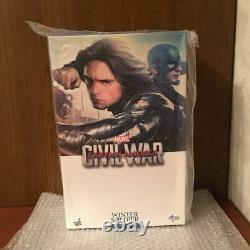 HOT TOYS MMS351 1/6 Captain America 3 Civil War Winter Soldier Bucky japan jp