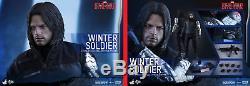 HOT TOYS Marvel Captain America Civil War Winter Soldier MMS