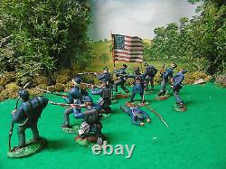 Hand Painted CIVIL War Soldiers