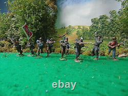 Hand Painted Conte, Cts And Tssd CIVIL War Soldiers