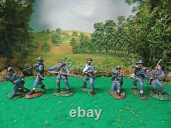 Hand Painted Conte-cts-tssd-marx CIVIL War Soldiers